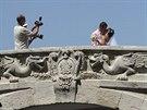 Úbytek turistů trápí i Jaltu. Snímek je z 9. srpna 2014.