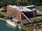Zde stál komplex vojenských laboratoří a továrny na střely V1/V2 v Peenemunde....