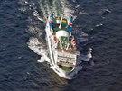 Loď spojující Rujanu se Švédskem