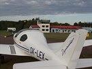 Letiště Kardla – denně sem létají dva spoje z Tallinnu jiný provoz tu není.