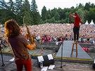 Kapela Kry�tof na festivalu Kry�tof Kemp na Konopi�ti (9. srpna 2014)