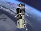 WorldView-3 nad Zemí (ilustrace).