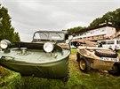 U b�ehu pod Branickým mostem se sjelo deset historických aut. Sedm n�meckých...