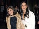 Tallulah Willisov� se svou matkou Demi Moore