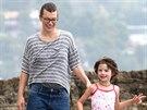 Milla Jovovichová s dcerou