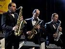 Trutnoff 2014: Saxofonová sekce orchestru Ondřej Havelka a jeho Melody Makers