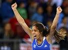 Ekaterini Stefanidiová skončila ve finále tyčkařek na mistrovství Evropy v