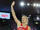 NÁVRAT ŠAMPIONKY. Barbora Špotáková ve finále oštěpařek na mistrovství Evropy v Curychu.
