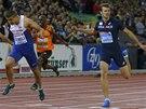 Adam Gemili poráží Christopha Lemaitra ve finále dvoustovky na mistrovství