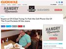 Clickhole.com, sestersk� publikace The Onion, publikuje parodie na texty z...