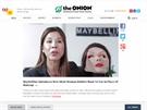 """""""Maybelline představila novou masku ideální ženy, nahrazuje make-up."""" (SATIRA)"""