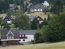 Osada Mühlleiten je oblíbena především u běžkařů.