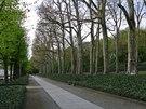 Treptower park na východě Berlína se rozkládá kousek od Sprévy.