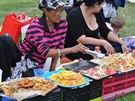 Každovíkendové setkání thajské komunity v Berlíně vypadá jako velký piknik.