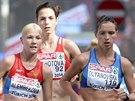 BUDOUCÍ MEDAILISTKY. Tři nejlepší evropské chodkyně na trati 20 kilometrů....