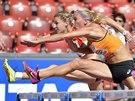 Nadine Broersenov� (v pop�ed�) z Nizozemska a  Claudia Rathov� z N�mecka v...