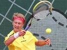 Zdeněk Kolář na mistrovství ČR juniorů v tenisu.