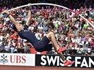 Pokus Renauda Lavillenieho ve skoku o tyči na ME v Curychu