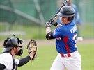 Momentka z baseballov�ho fin�le Draci Brno vs. Kotl��ka Praha