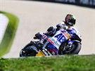 Karel Abraham na trati Velké ceny Brna silničních motocyklů ve třídě MotoGP