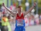 Alexej Reunkov, vítěz maratonu na ME v Curychu