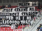 Hradečtí fanoušci si při utkání s Plzní zoufali nad mizernou střeleckou...