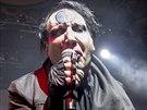 Marilyn Manson vystoupil 12. srpna 2014 ve vyprodané pražské Lucerně.