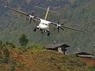 Bhútánská letiště patří pro piloty k těm nejnáročnějším na světě