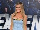 Carmen Electra na premiéře filmu Expendables: Postradatelní 3 (Los Angeles, 11....