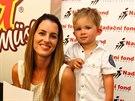 Lucie Křížková a její syn David