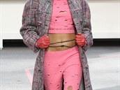 Cara Delevingne na přehlídce Chanel, podzim-zima 2014