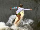 Um�lá vlna pro surfa�e v Brandýse nad Labem