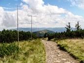 Cestou z Keprníku