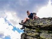 Mrazový srub na vrcholu Keprníku