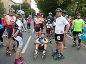 Závod v in-line bruslení v Ostravě