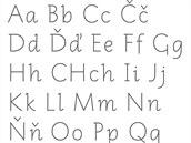 Nevázané písmo Comenia Script A od Nakladatelství Fraus