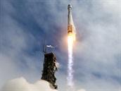 Start rakety Atlas V 401 se satelitem WorldView-3 na palubě (13. srpna 2014)
