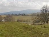 Výhled ze Slunečné v roce 2006