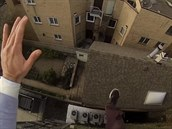 Profesionální kaskadér Ethan Swanson nahrál na kameru sv�j velký skok na...