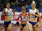 Lenka Masná finišuje na mistrovství Evropy v Curychu v semifinále osmistovky za