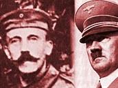 Adolf Hitler nosil za první sv�tové války velký knír. P�i�el o n�j kv�li...