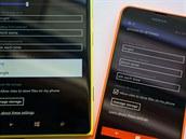 Mo�nost volby vyhledáva�e u Windows Phone 8.1 kon�í.