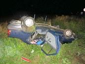 Řidič Volkswagenu Passat nedal přednost Renaultu při dopravní nehodě u Hradce...