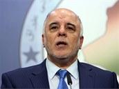 Nový irácký premiér Hajdar Abádí (14. 8. 2014)