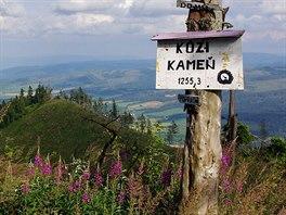 Vrchol Koz�ho kamene (1255 m)
