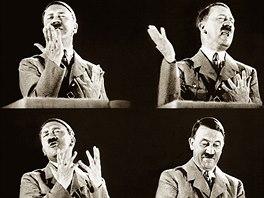Německý nacistický vůdce Adolf Hitler své proslovy doslova prožíval.