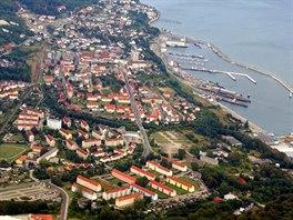 Přístav Sassnitz, ostrov Rujana