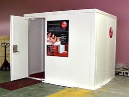 Neprůstřelný úkryt Panic Room má ochránit před možným napadením doma nebo v...