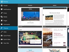 V prostředí aplikace WordPress pro Android nebo iOS lze pohodlně spravovat více...