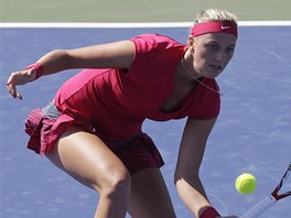 Petra Kvitová na turnaji v Cincinnati